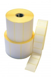 Papier-Etiketten 76,00 x 25,00, ablösbar